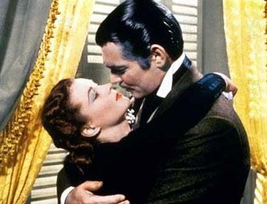 Scarlett O'hara et Rhett Butler
